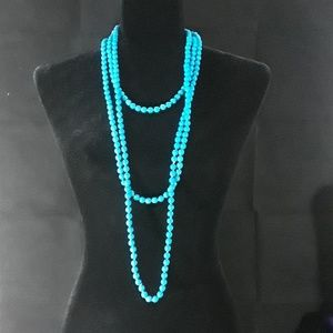 Endless bead necklace